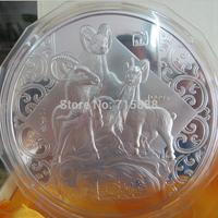 CHINA 2015 Lunar Year of Goat  1kg commemorative  Rare  Original Horse   Silver  Coins