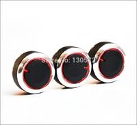 High Quality  ! 2008-2013 X-TRAIL / 2009-2013 Qashqai Aluminum Car Air Conditioning Heat Control Switch Knob