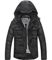 New 2014 winter men's brand white duck down jacket, plus size outdoor coat, men sport coat, winter jackets, outwear coat