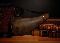 Crazy Horse Genuine Leather High Grade Vintage Kettle Men's Messenger Bag YG011-C , Free Shipping