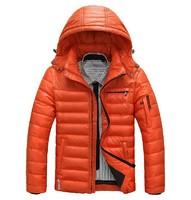 Hotsale 2014 winter men's fashion down jacket,brand outdoor coat,men casual sport coat, winter jacket,outwear coat