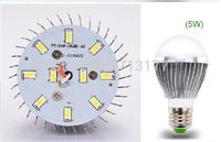 10pcs/lot Ultra Bright Aluminum High Power 5W E27 Globe LED Bulb light AC85-265V Warm/Cool White ,Bubble Ball Bulb Free shipping