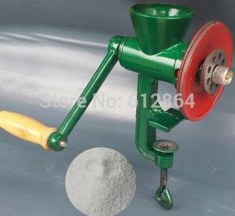 Free-shipping-Hand-crank-mill-food-Chili-Soybean-Grain-Rice-Mill-Wheat