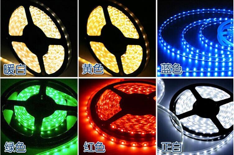 5m 12v smd3528 non- preuve de l'eau flexible led light 60/m 300 conduit. Couleur blanc 6/blanc chaud/bleu,/vert,/rouge./jaune, free shopping