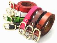 Fashion women's belts vintage cowhide designer strap women casual genuine leather belt free shipping QY282