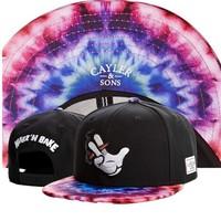 New New New Cayler  & Sons smoking  snapback hats WAKE'N BAKE polar light men's classic adjustable hats freeshipping!