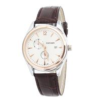 2014 New CAFUER Brand Men Quartz Business Watch,Men Military Movement Calendar Leather Watch,Free shipping
