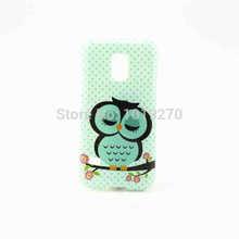 Mobile Phone Cover For Samsung Galaxy S5 Mini Case 3D Cartoon Owls Soft Tpu Bag For S5 Mini 2014 Fashion New(China (Mainland))