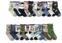3pcs/1lot Free shipping lovely boy's socks children spring and autumn socks baby floor cotton socks baby boys socks
