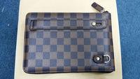 For iPad mini 1 2 Case Luxury Leather Lattice Hand Bag Business Gift For Apple iPadmini Fashion Soft Nice Skin Feeling Wholesale
