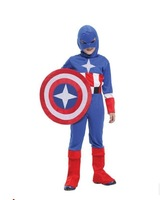 2014 New Arrivial Cosplay Awesome American Warrior Unirform For Halloween&Carnival&Party