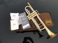 Bach TR-200 B flat professional trumpet bell Top musical instruments Brass