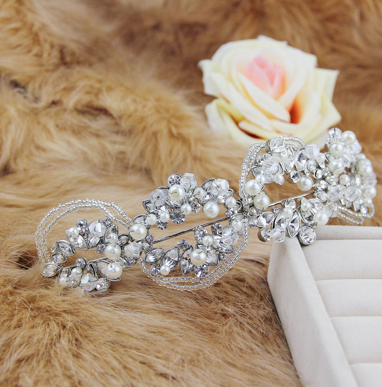 The bride handmade hair bands hair accessory crownpiece accessories marriage accessories