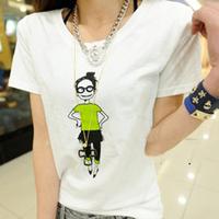 T-shirt female short-sleeve