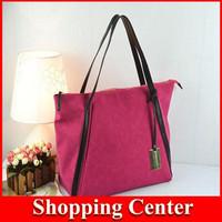 Freeshipping new 2014 fashion ladies retro canvas bag female bag big bag handbag female shoulder bag women