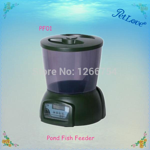 Auto Pond Fish Feeder Promotion Online Shopping For Promotional Auto Pond Fish Feeder On