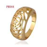 PR544 18K Gold Plated Fashion Rings wholesale price brand design  brand Wedding Jewelry