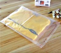 100 pcs 35x24cm (14''x9.6'') Heat Seal Dull Polish Opp Bags With Self-Adhesive Seal #A00123