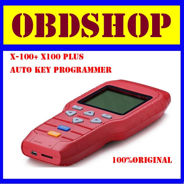 2014 Hot vender Original X 100 + X100 além disso Auto chave programador atualização Online X100 programador chave(China (Mainland))