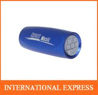 Portable Sports Music Sound Box Mini Bicycle Bike MP3 Player Speaker FM Radio Micro SD/TF Blue