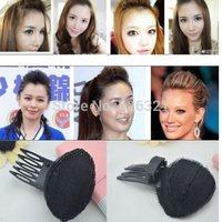 1PC Fashion Hot Women Hair Styling Clip Stick Bun Maker Braid Tool Hair Accessories Pad Puff Hair Princess Free