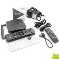 MINIX NEO A2  Airmouse and MINIX NEO X8-H X8 H X8H 4K Android Smart  TV Box Quad Core Amlogic S802-H 2GB 16GB XBMC Kitkat 4.4