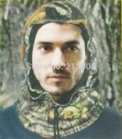 High-quality 1 PCS hunt Hooded collar Hood Hat Cap Fleece Hunting Neck Gaiter Mask Camo Balaclava Neck Keep Warmer