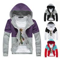 2014 Autumn&Winter open stitch Hoodie Sweatshirt Outerwear Clothing Men Brand Casuall Sports Outdoor Wear 1pcs/lot free shipping