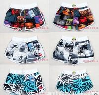 2014 fashion women sport beach short leisure surf board shorts swim wear lady casual short  in 7 types