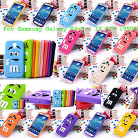 NEW Fashion 3D Cute Lovely Silicone Case Cover for Samsung Galaxy S4 IV i9500