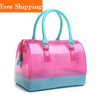 Bag Crystal Las Clear Tote Bags Handbags Solid Plastic Shoulder
