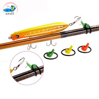 Free shipping, 6pcs road sub-pole dedicated portable flipchart bait, a hook device. High quality bait shop