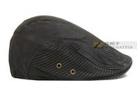 New 2014 male hat retro vintage finishing male beret cap for 4 seasons fashion beret men's fashion cap ,Free Shipping
