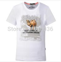 Hot-sale!2014 New Arrival 100% Cotton T-shirt  Men's 0-Neck Short T-shirt,1837,Green Free Shipping!