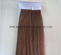 16, 18, 20, 22, 24 inch 100% Natural Human Hair, Remi Hair, Skin weft Tape Hair Extension #60 Blonde Color 40pcs/set