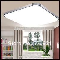 Popaular 85-265V Led ceiling light square Led lighting LED ceiling lamp 450mm 24W living room/bedroom/balcony light modern lamp