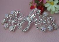 Fashion Crystal Rhinestone Bridal Jewelry Hair Combs