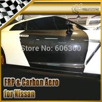EPR- For Nissan R35 GTR Carbon Fiber OEM Door Replacment Pair