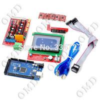 3D RAMPS1.4 3D Control Board Set (LCD12864 + 2560 R3 Board+ 3D 1.4 Control Board + 4988 Driver Boards)