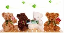 20cm cute teddy bear plush toy doll gift w4383(China (Mainland))