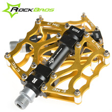 ROCKBROS High Quality Mountain Bike Pedals MTB Road Cycling Sealed Bearing Pedals BMX Ultra-Light Bicycle Pedals, 5 Colors(China (Mainland))