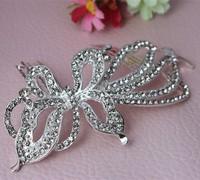 Bridal Hair accessories Wedding Hair Comb Bridal Rhinestone Crystal Feather Hair Comb Bridesmaid Jewelry