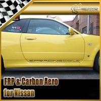 For Nissan Skyline R34 GTR BNR34 GTR Carbon Fiber Nismo Side Skirt Extension