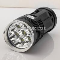2014 New SecurityIng Led Flashlight 90000 Lumens 7x CREE XM-L T6 LED Flashlight Water-Resistant & Super Bright Torch Flash light