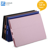 Special 9.7'' Cube Talk 9X U65gt Tablet Pc Flip Leather Case Multi Color Stand Shell Free Shipping