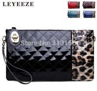 New 2014 Brand LEYEEZE-DVABLUO Women's Leather Handbag Retro Vintage Messenger Bag Tote Lady Trendy Shoulder Bags Cross body bag