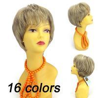 Female Elegant New Sexy Women Ladies Girls Fashion Style Bob Hair Charming Cosplay Short Straight Wig Free Shipping A009
