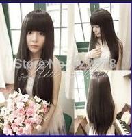 100% Mongolian Virgin Human Hair Cheap Natural straight Hair Natural Hairline For Women u part Human Hair Wigs