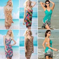 Autumn Dress Vestidos Free Shipping Women's Natural Worsted Knee-length O-neck Slim Strap Beach Hot Sale New 2014 Summer