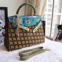 luxury brand women handbag 32cm top quality women totes
